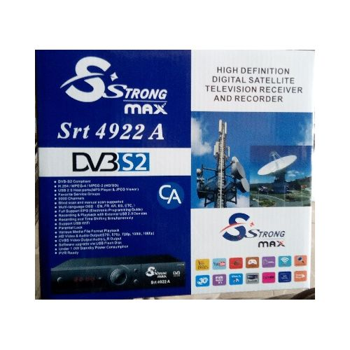 Strong MAX Srt 4922A Free To Air