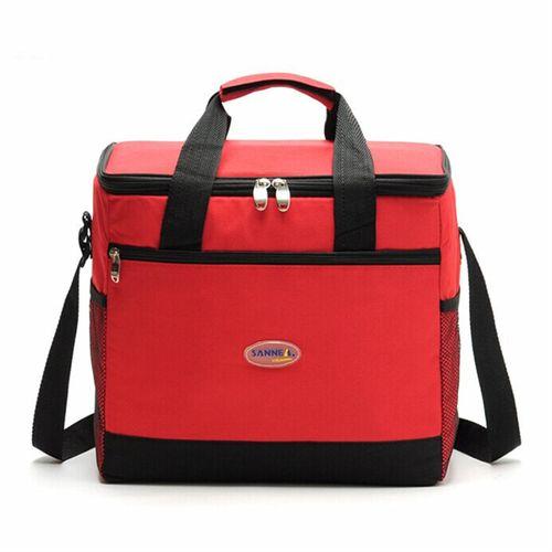 Large Insulated Cooler Cool Shoulder Bag Outdoor Camping Picnic Lunch Handbag