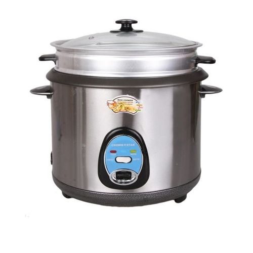 Rice Cooker - 3Ltr - Silver - 3Ltr - Silver