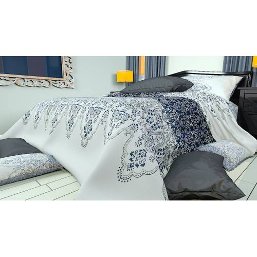 Hartwone Reversible Duvet Cover And Four Pillow Cases
