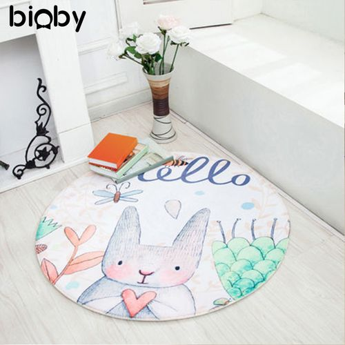 Game Gym Activity Play Mat Crawling Blanket UK Baby Kids Cotton Floor Rug Round