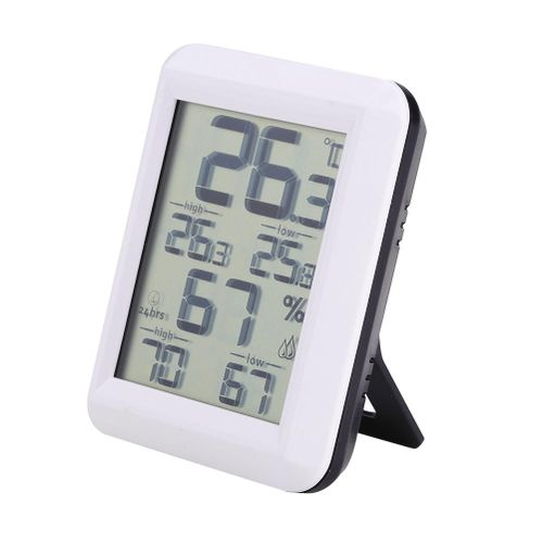 Digital Hygrometer Indoor Thermometer Humidity Monitor With Temperature Humidity Gauge