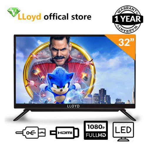 "LED Full HD32"" TV Black Free Barcket One Years Warranty"