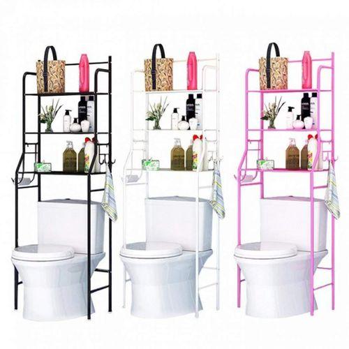 3 Tier Toilet Over Bathroom Storage Rack Shelf Organizer
