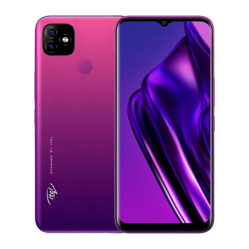 "P36 Pro 6.5"" HD+, 2GB RAM + 32GB ROM, 5000mAh, 13MP AI Dual Camera, Android 9, 4G LTE, Fingerprint + Face ID - Purple"