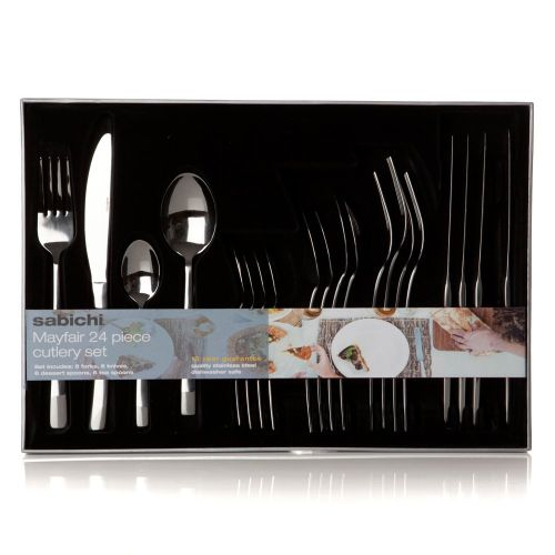 Mayfair 24 Piece Cutlery Set