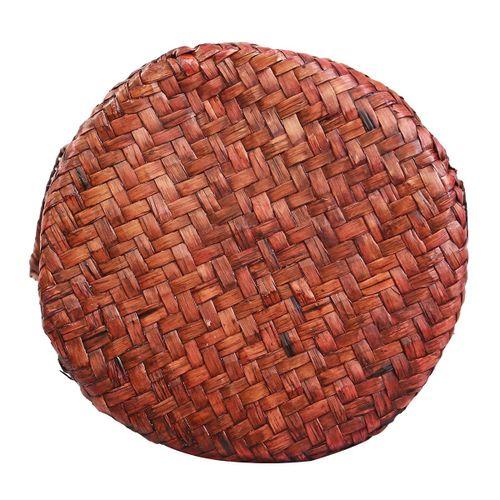 Grey Rattan Umbrella Hollway Storage Basket Stand Holder