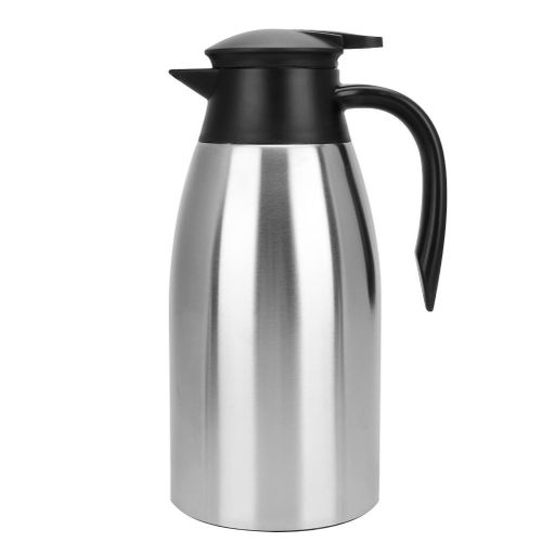 2L Stainless Steel Household Outdoor Water Coffee Bottle Vacuum Insulated Thermo Jug