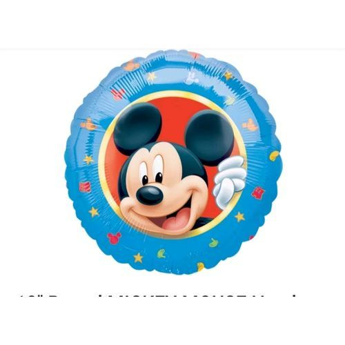 Official Disney Mickey Mouse Helium Balloon 18inch (UK)
