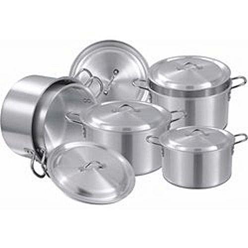 Picasso Cooking Pots Big Size Set Of 5 (pieces)