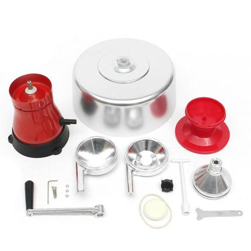Milk Cream Electric Centrifugal Separator Metal 100L/h NEW