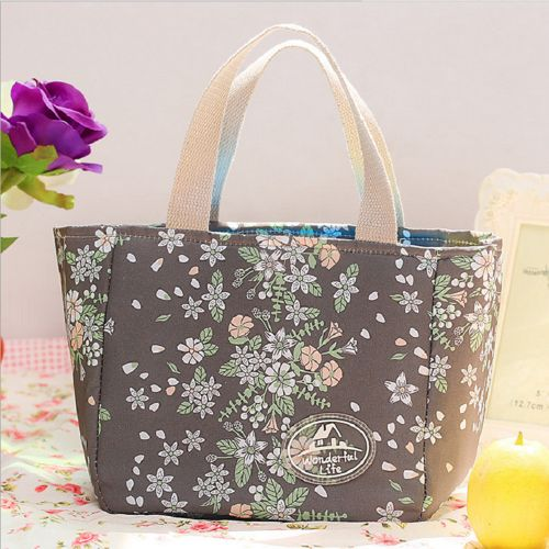 Portable Insulated Thermal Cooler Lunch Box Carry Tote Picnic Case Storage Bag B