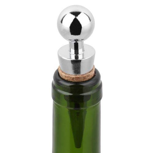 1Piece Bottle Stopper Wine Storage Twist Cap Plug Wine Reusable Vacuum Sealed Red Wine Bottle Stopper