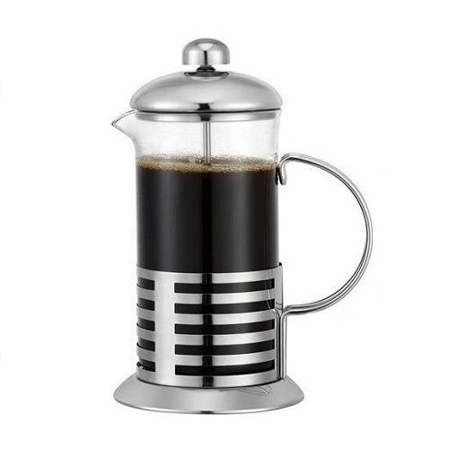Coffee Plunger - Silver
