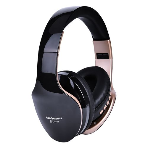 Wireless Bluetooth Headset With Mic For PC All Phone Mp3 MP4