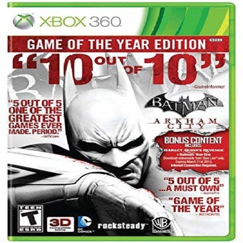 Batman: Arkham City - Game Of The Year Edition Xbox 360