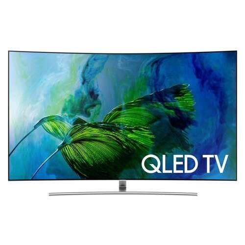 Samsung 65 inch Class Q8C HDR UHD Smart Curved QLED TV