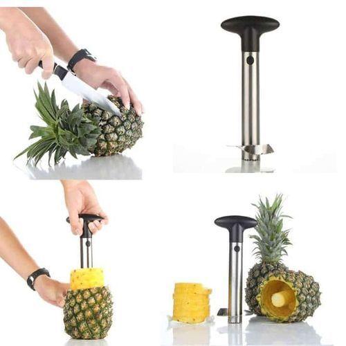 Stainless Steel Pineapple Peeler Cutter Slicer Corer Peel Core Tools Fruit Vegetable Knife Gadget Kitchen Accessories