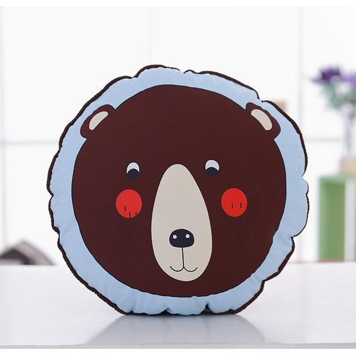 Penguin Lion Brown Bear Large Round Pillow Sofa Cushion
