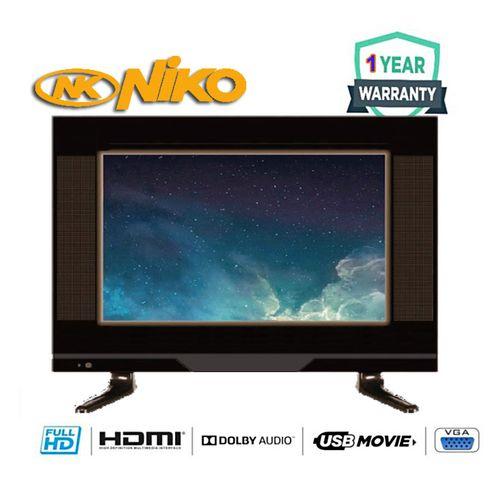 19'' Full HD Digital LED TV With 1 Year Warrant- Black