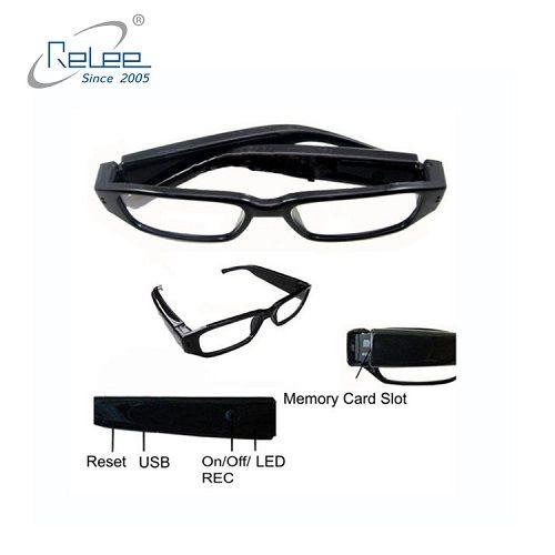 1080P HD Mini Camera Glasses Hidden Video Recorder Eyewear USBCameraCamcorder DVR Support TF Card By HT