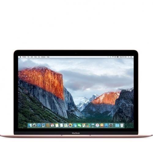 """Macbook 12"""" (2017) Intel Core I5 1.2GHz (256GB,8GB) - Rose Gold"""
