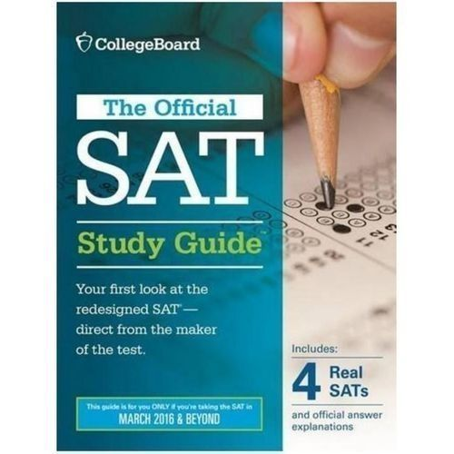The Official SAT Study Guide, 2016 Edition.