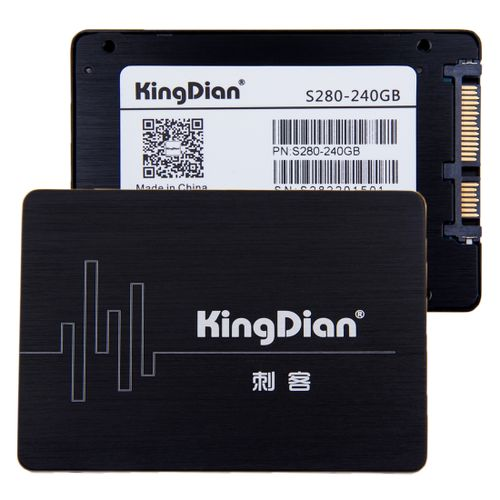 Kingdian S280 240GB 2.5 Inch Solid State Drive / SATA III Hard Disk For Desktop / Laptop