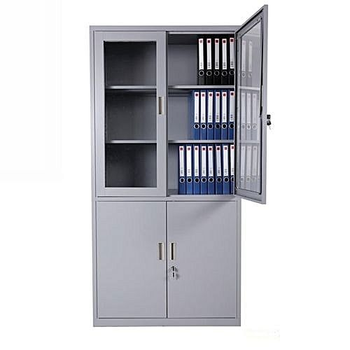 Universal Sophisticate Steel Filling Cabinet With Swing Half Glass (delivery Within Lagos Only)