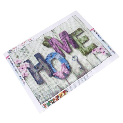 Cross Stitch Kit, Cross Stitch Kits DIY Diamond Letter Painting Embroidery Pattern Cross Stitch Painting Living Room Bedroom Decor