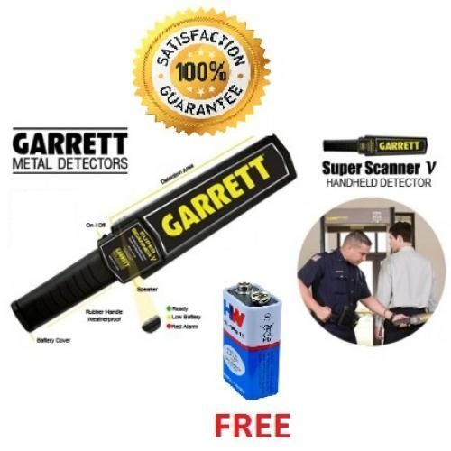 SUPPER Scanner Hand-Held Metal Detector (1 - 10-PIECES) With