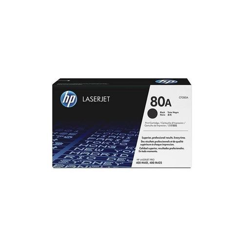 Genuine LaserJet Toner 80A - Black