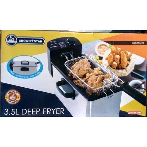 3.5 Liters Deep Fryer- Silver