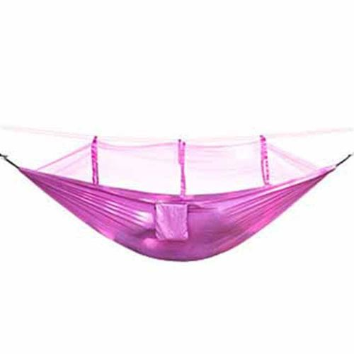 Ultralight Hammock Mosquito Net Breathable Anti-Mosquito Mesh Tent Pink