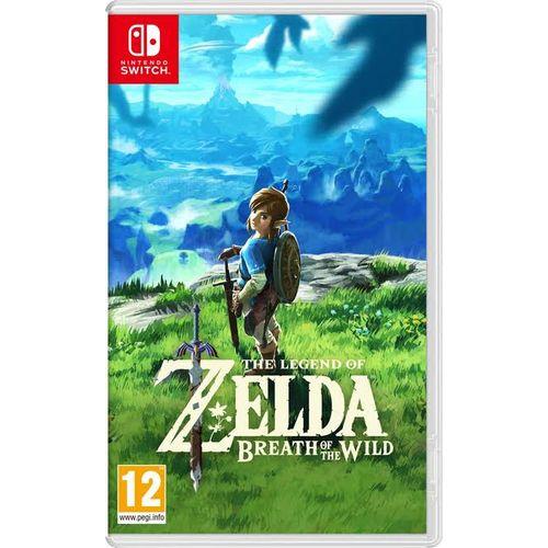 Legend Of Zelda Breathe Of The Wild Nintendo Switch