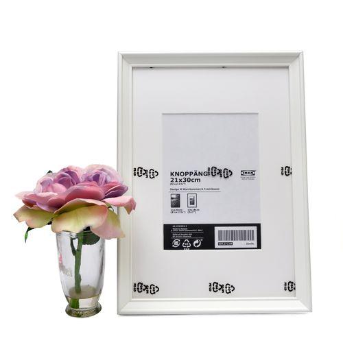 White Photo Frame (21cm X 30cm)
