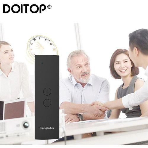 DOITOP T6 Smart Translation Intelligent Translator Smart Language Translator Easy Trans Instant Voice Speech BT 28 Languages+APP ASQOA