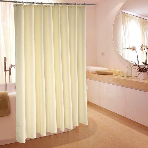 Antifungal Cotton Shower Curtain (Cream)