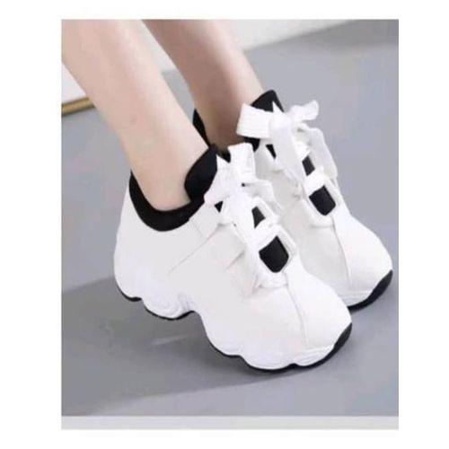 Fashion Premium White Female Sneakers