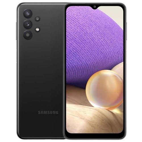 "Galaxy A32 - 6.4"", 6/128GB Memory, Camera - 64/8/5/5MP, 20MP Selfie, Dual SIM, 5,000Mah Battery, 4G LTE - Awesome Black"