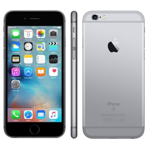 IPhone 6S Plus - Mobile Phone - 128GB - 5.5 Inch IOS 9.0 - Apple Smartphone - Grey