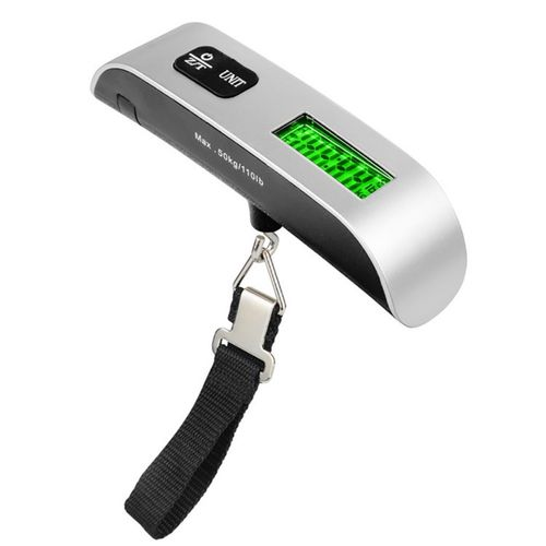 T Shaped Plastic Portable Battery Luggage Scales