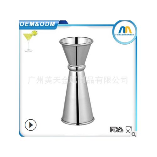 304 Stainless Steel Bar Jigger Tail Cup Wine Separation Measuring Tool With 60ml Scale