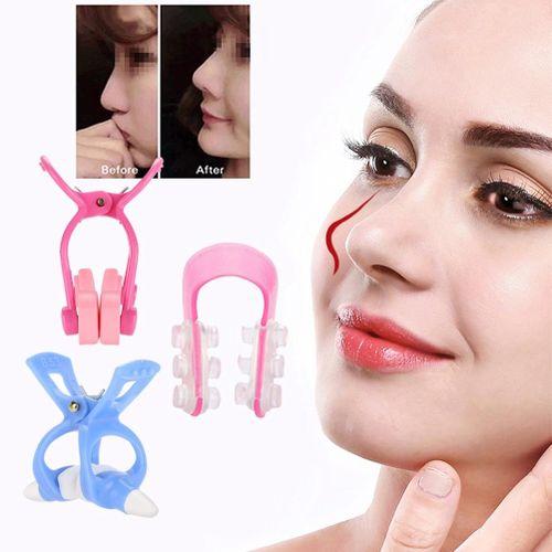 3pcs Nose Shaper Massager Straightening Nose Up Clip Set New