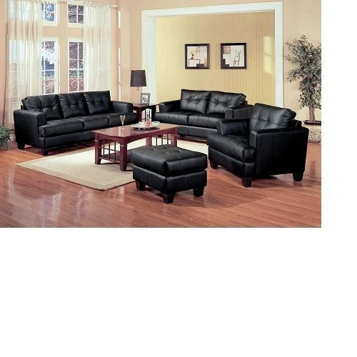 LUXURY BLACK DICE SOFA SET (Free Delivery Within Lagos Only)