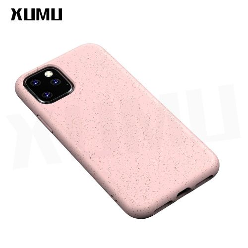Xumu For IPhone 11 Pro Max IPhone11 IPhone11Pro Case Wheat Stalk Environmentally Friendly Material Matte Soft TPU Airbag Anti-Knock Back Cover