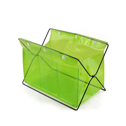 Honana HN-B20 Multifunctional Desk Organizer Colorful PVC Comsmetics Staionary Storage Box