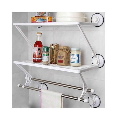 Kitchen And Bathroom Rack With Towel Bar
