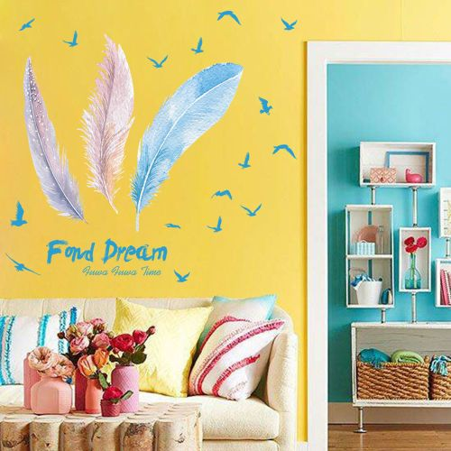 Lodaon DIY Removable Wall Decal Family Home Sticker Mural Art Home Decor