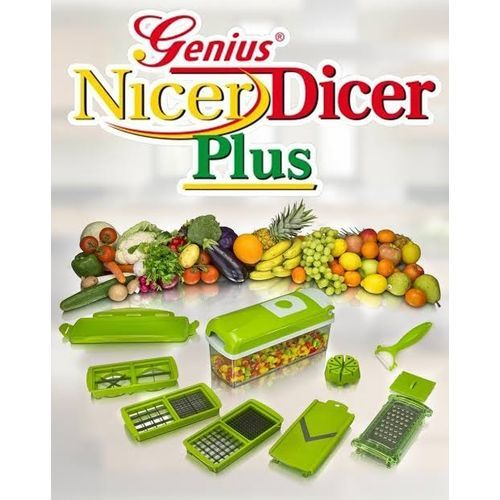 Nicer Dicer Cutter Slicer Accessories For Smoothies,Beans,Carrot Metal